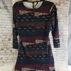 Victoria Sport Cheetah Print Athletic Dress